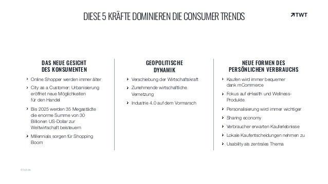 DAS NEUE GESICHT  DES KONSUMENTEN Online Shopper werden immer älter City as a Customer: Urbanisierung eröffnet neue Mögli...