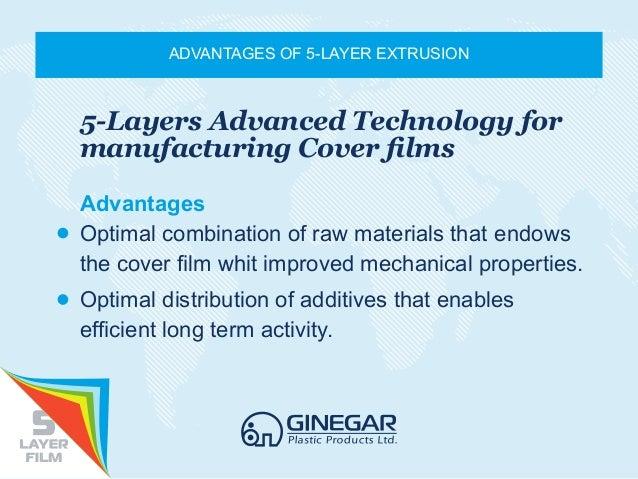 Ginegar - 5 layers technology Slide 2