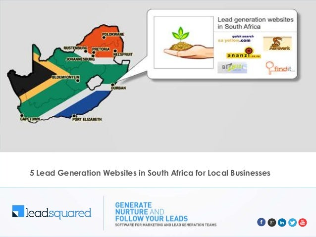 5 Lead Generation Websites in South Africa for Local Businesses