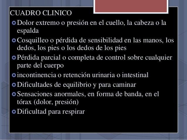 Sheynyy la osteocondrosis el chichón del ejercicio