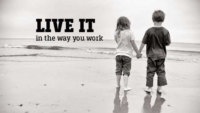 LIVE ITin the way you work