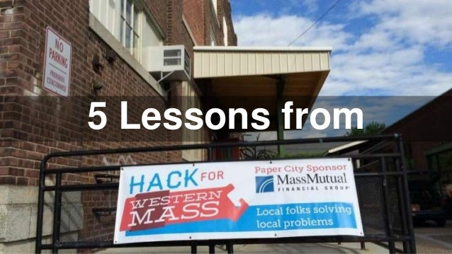 5 Lessons from