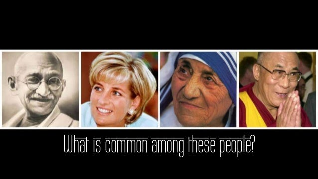 What is common among these people?