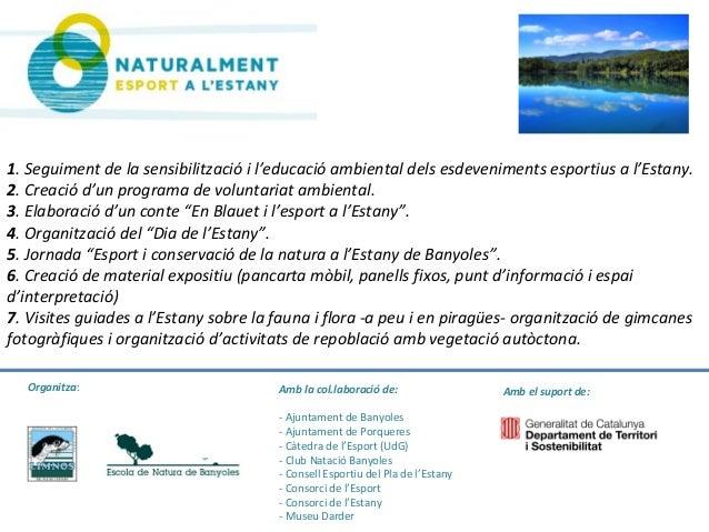 Amb el suport de:Amb la col.laboració de: - Ajuntament de Banyoles - Ajuntament de Porqueres - Càtedra de l'Esport (UdG) -...