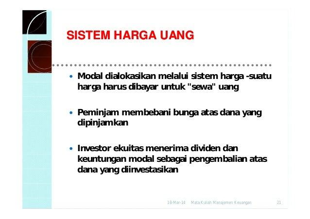 Sistem perdagangan elektronik pasar keuangan