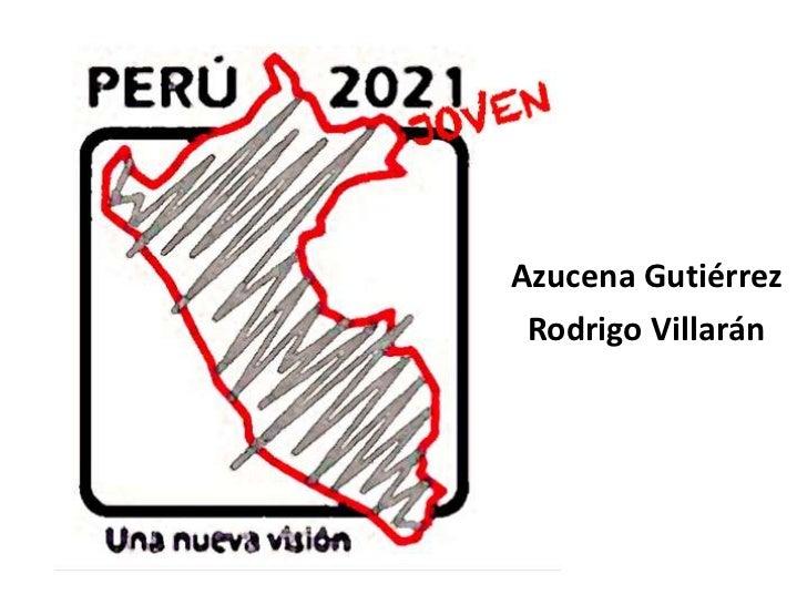 Azucena Gutiérrez Rodrigo Villarán