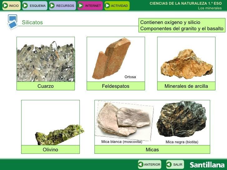 5 los minerales - Propiedades del granito ...