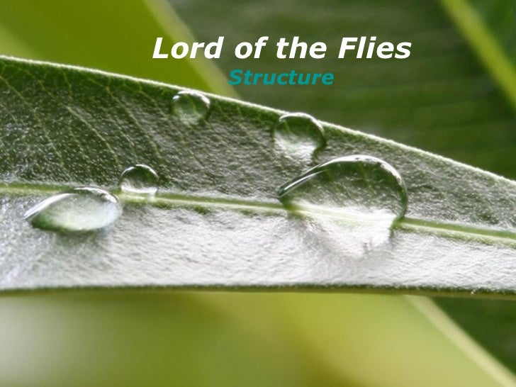 Powerpoint Templates Lord of the Flies Structure