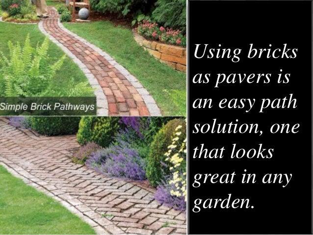 Garden Walkways Ideas 5 lovely diy garden pathway ideas 3 workwithnaturefo