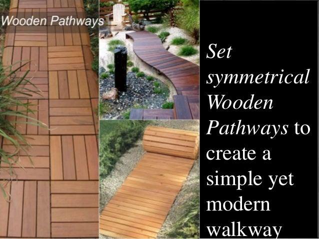 5 Lovely DIY Garden Pathway Ideas