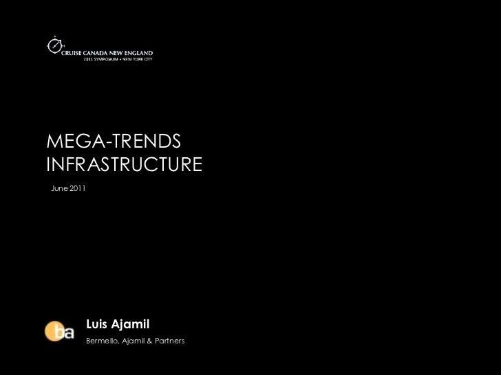 MEGA-TRENDSINFRASTRUCTUREJune 2011        Luis Ajamil        Bermello, Ajamil & Partners