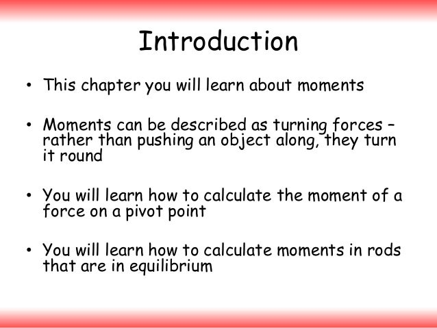 Moments Slide 2