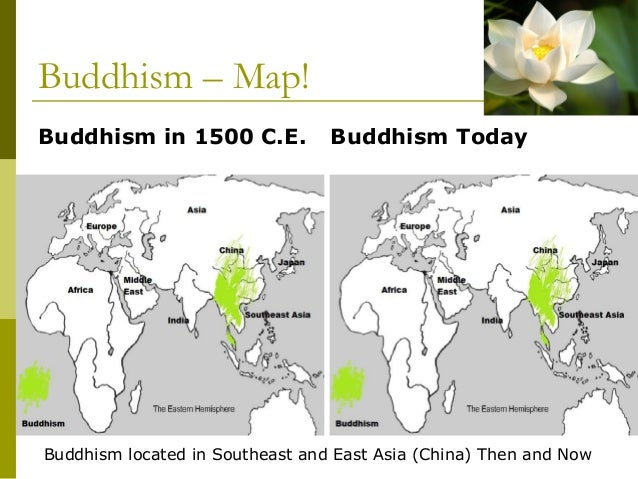 2500 250 bc 22 buddhism map