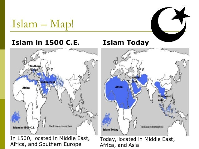 Major World Religions Modified - World religion map before islam