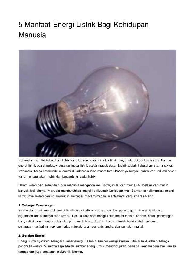 Alat Alat Yang Mengubah Energi Listrik Menjadi Energi Panas Adalah Berbagai Alat