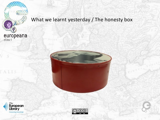 What we learnt yesterday / The honesty box