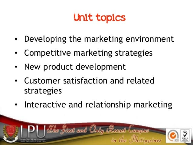 Marketing Strategies Slide 2
