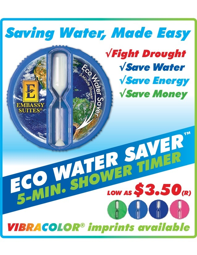 help save water with this 5 minute timer by simply kudos