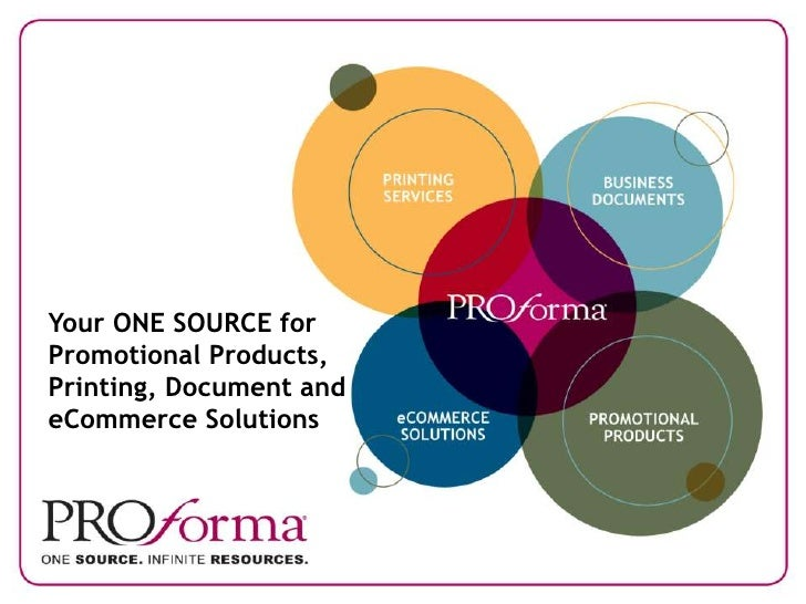 Your ONE SOURCE for Promotional Products, Printing, Document and eCommerce Solutions<br />