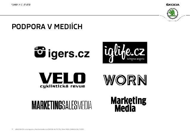 Marketing obrazem 2015: Škoda Auto na Instagramu