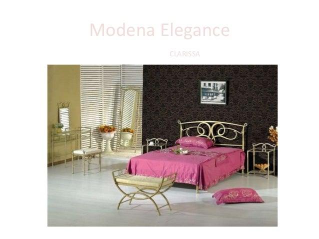 Modena Elegance Кровать CLARISSA