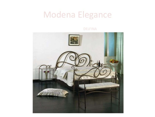 Modena Elegance Кровать DELFINA