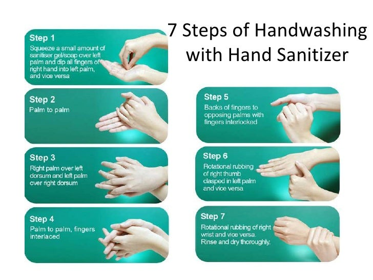 5 moment hand hygiene