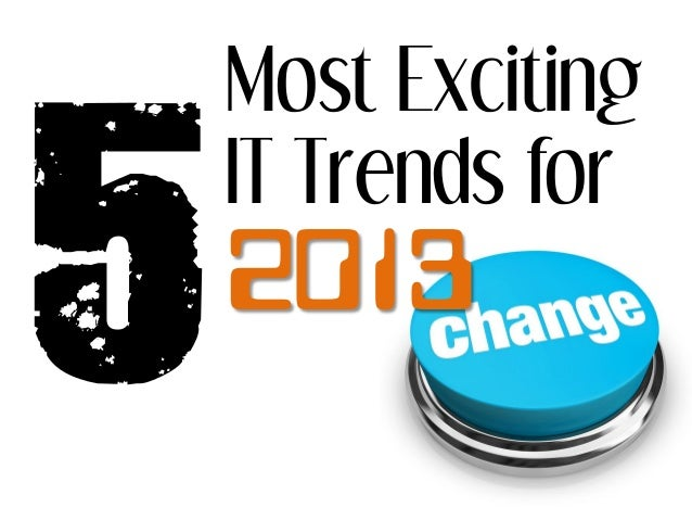 Most ExcitingIT Trends for2013