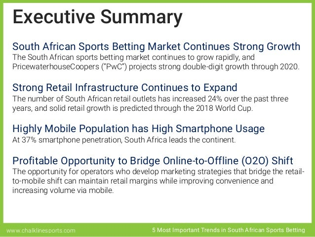 5 Most Important Trends in South African Sports Betting ...