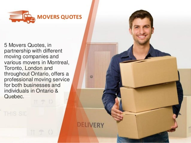 Moving Company Quotes >> 5 Movers Quotes Compare Prices From Moving Companies