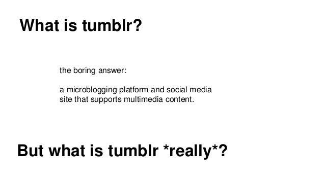 using tumblr for readers advisory