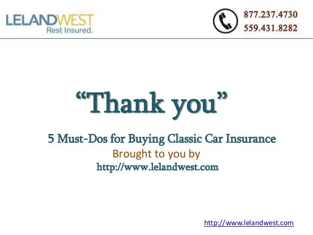 Leland Classic Car Insurance
