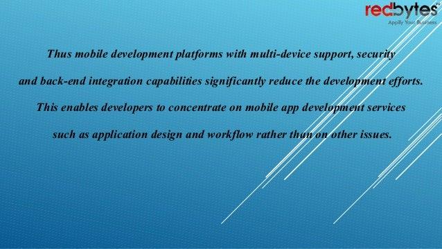 we provide mobile application development