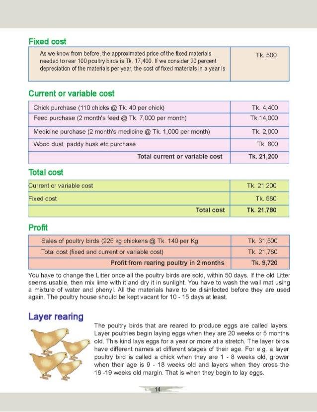 Booklet poultry rearing- পোল্ট্রি পালন