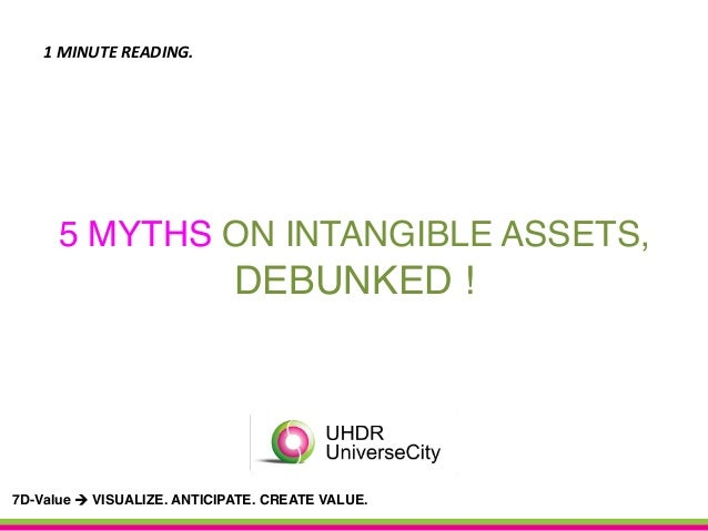5 MYTHS ON INTANGIBLE ASSETS,