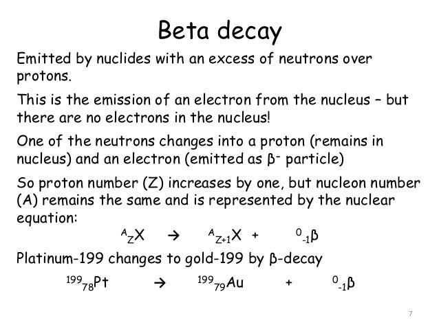 5 Nuclear Stability And Radioactive Decay
