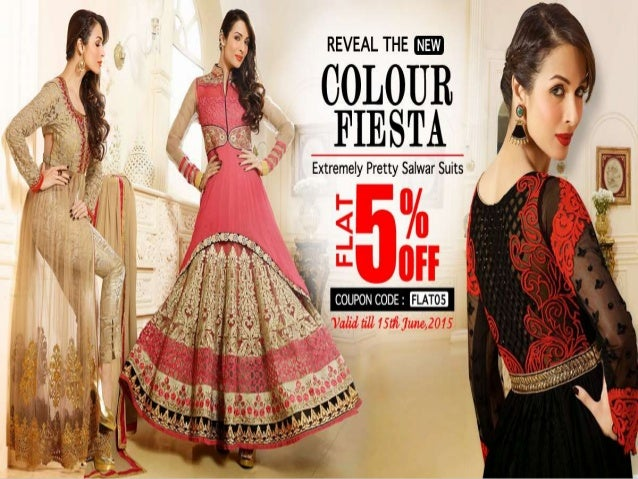 5% off discount offer on all pavitraa women clothing products