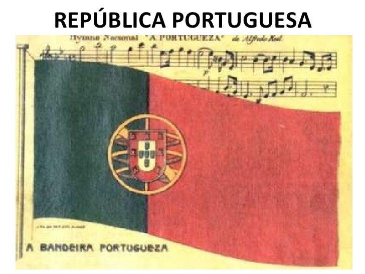 REPÚBLICA PORTUGUESA