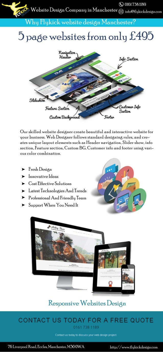 ResponsiveWebsitesDesign 5pagewebsitesfromonly£495 Ourskilledwebsitedesignercreatebeautifulandinteractivewebsitefor yourbu...