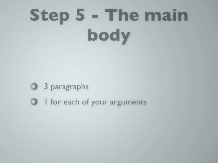 5 paragraph essay assignments
