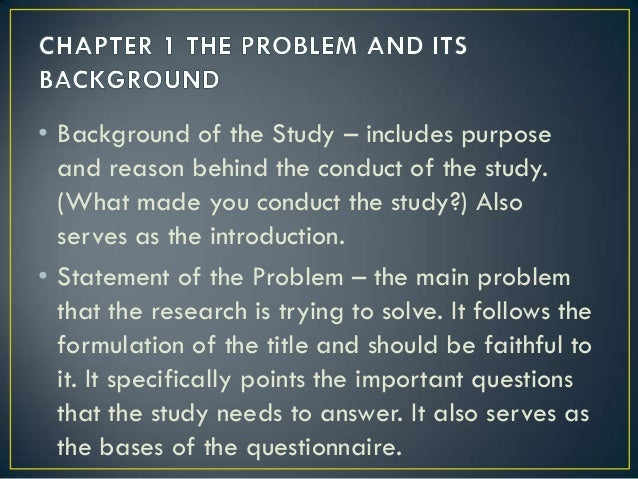 parts of thesis paper chapter 1 Sample thesis chapter 1 - free download as word doc (doc / docx) or read online for free this is a copy of the 1st chapter of miss gina o gonong's thesis it is one of the samples used on chapter 1, written report.