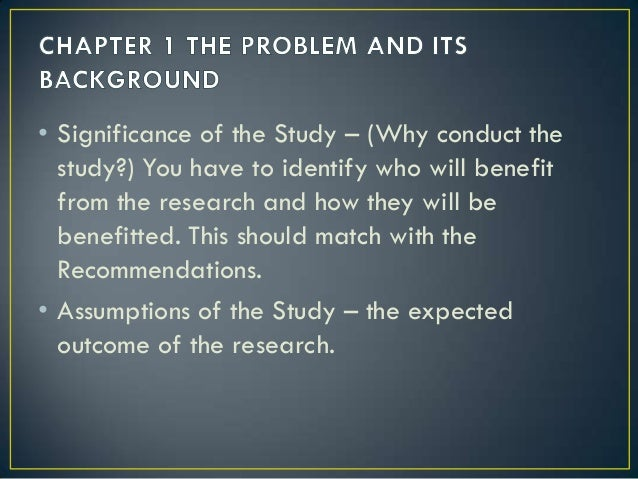 significance of a research paper Statistical significance refers to the unlikelihood that mean differences observed  in the  significance itself the ultimate goal of your research, especially when.
