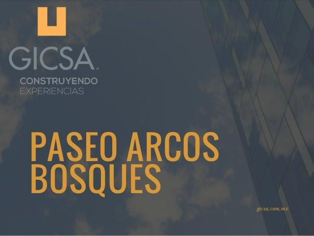 PASEO ARCOS BOSQUES gicsa.com.mx