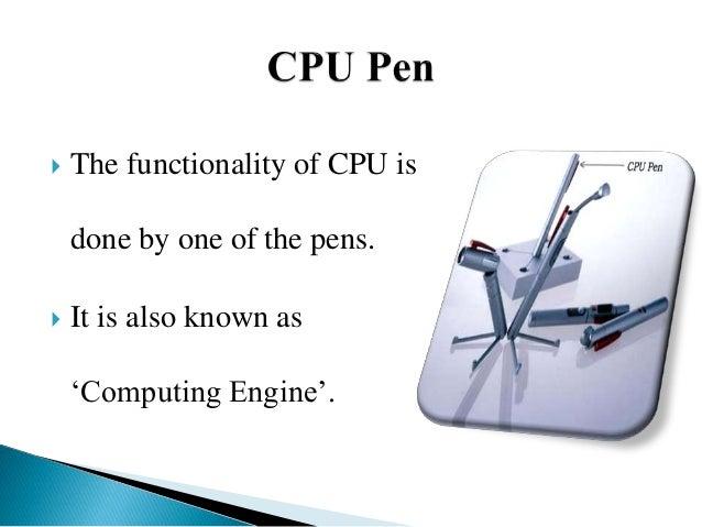 5 pen pc technology ppt