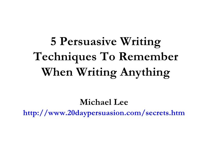 Step-By-Step Guide: How to Write the Perfect Persuasive Essay