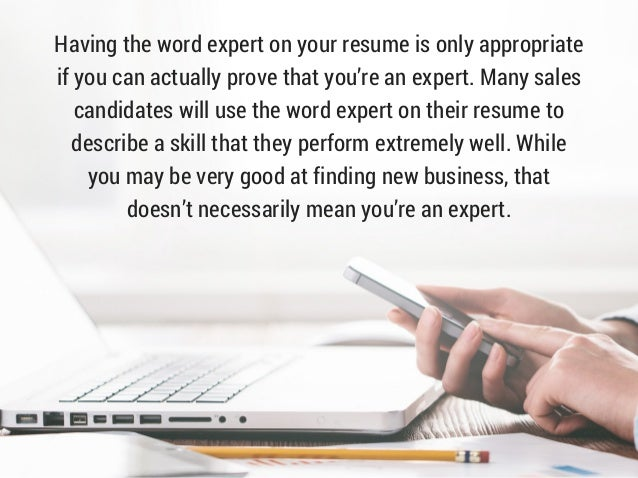 the word resumes