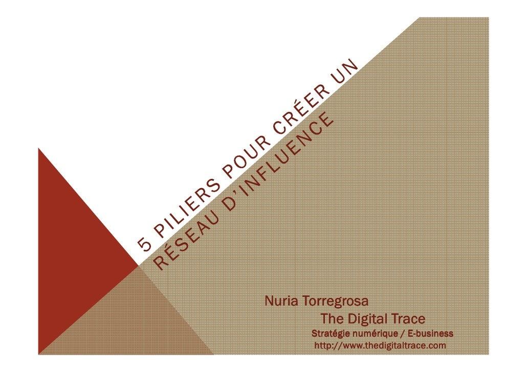 Nuria Torregrosa         The Digital Trace                             E-       Stratégie numérique / E-business       htt...