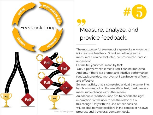 #  Measure, analyze, and  provide feedback.  The most powerful element of a game-like environment  is its realtime feedbac...