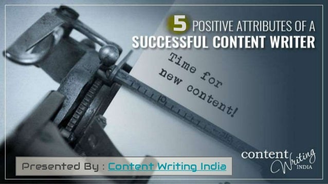 5 Presented By : Content Writing India