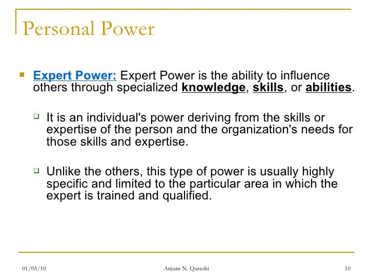 leadership bases of power French and raven's five sources of power reward power reward power is power that bases itself on the generally you have power or leadership influence.